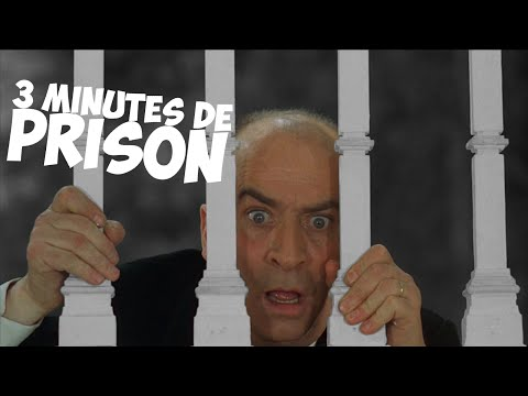 3 minutes de prison avec Louis de Funès !