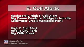 E.Coli Levels Could be Affected by Storms