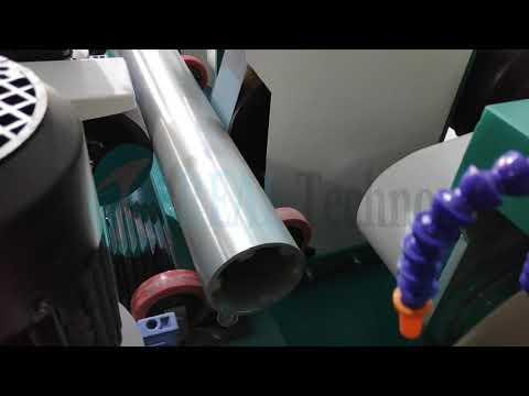 Belt Type Tube Polishing Machine