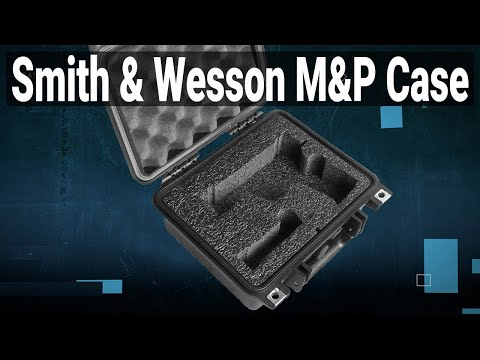 Smith & Wesson M&P Pistol Case - Featured Youtube Video