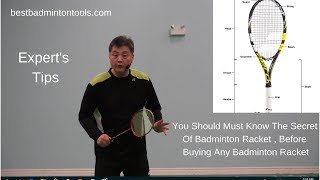 Best Badminton Racket - How to Choose a Badminton Racket - Expert's Tips