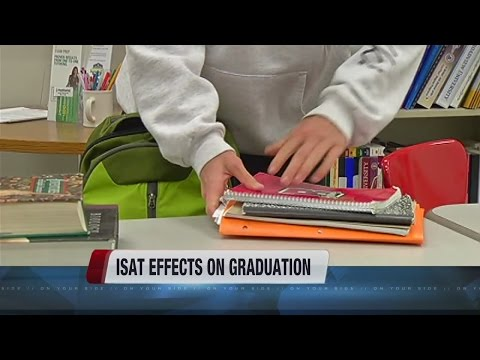 ISAT exam may not be required for high school graduation - YouTube