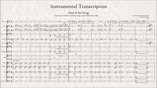 Find a Pet - Instrumental Transcription