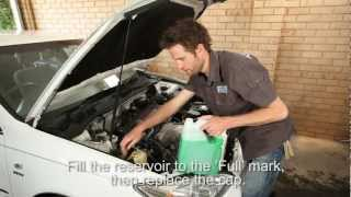 How to check you cars coolant level