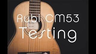Rubinito CM 53 testing