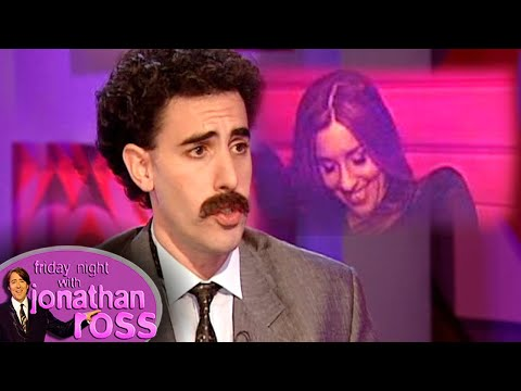 Sacha &#39Borat&#39 Baron Cohen Asks Melanie &quotWhat Her Price Is&quotFriday Night With Jonathan Ross