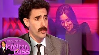 "Sacha 'Borat' Baron Cohen Asks Melanie ""What Her Price Is"" 