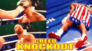 INCREDIBLE! CREED ACTOR MICHAEL B. JORDAN KNOCKED OUT IN REAL LIFE FOR ROLE