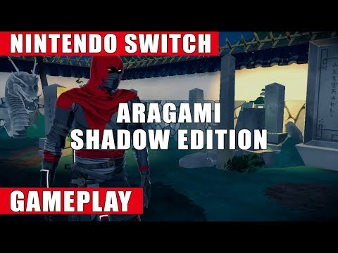 Aragami: Shadow Edition Nintendo Switch Gameplay