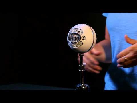 BLUE MICROPHONES Snowball Brushed Aluminum USB kondenzátorový mikrofon