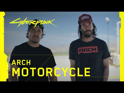 Making-of des motos avec Keanu Reeves de Cyberpunk 2077