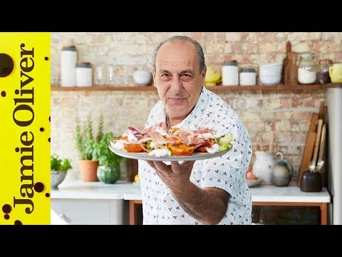 Grilled Apricot Salad | Gennaro Contaldo | Jamie Cooks Italy