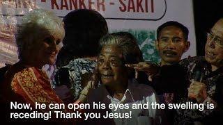 Man's Eyes Open