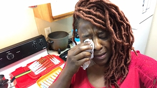 Emotional 😭 Chef Mama Rosa and OnehealthyNut  HELP!! VEGAN DAY 46
