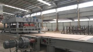 Shuoyu quartz slab production line