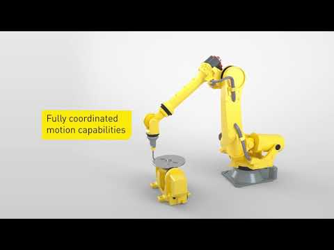 Intelligent robot accessories from FANUC - Positioner