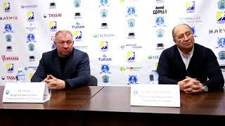 Пресс-конференция «Алтай Торпедо» – «Арлан»