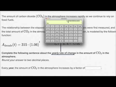 Interpreting change in exponential models: changing units