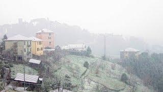 preview picture of video 'Nevicata San Cipriano Serra Ricco' 29 Gennaio 2014'