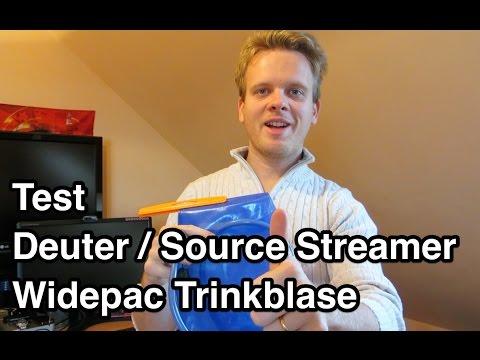 Test Source Widepac 3L Trinkblase   Trinksystem Test   Trinkblase Test