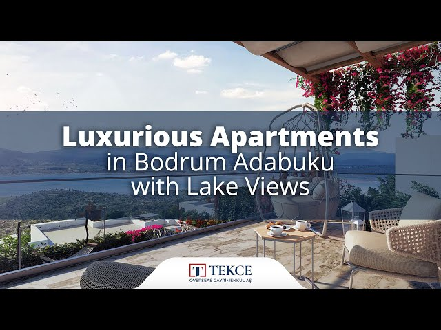 Investment Apartments in a Residential Complex in Bodrum