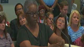 Lady Calls Buddy Amoroso a Liar Baton Rouge Metro Council Meeting 7-19-18