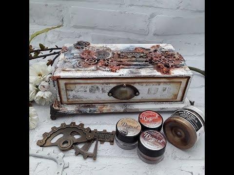 #how to # Schubladenbox bauen / build a drawer box  #Steampunk