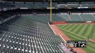 Baltimore: Empty Stadium for Orioles Game