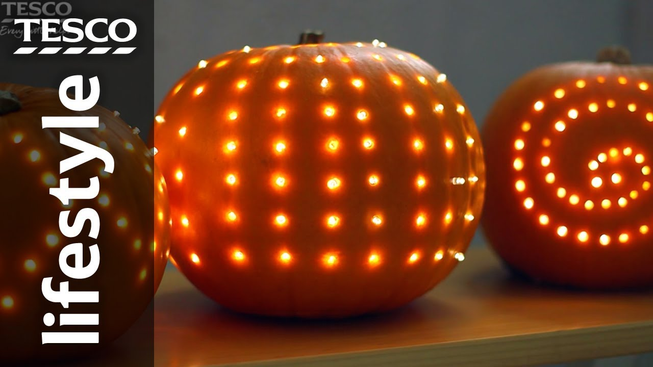 How to carve a pumpkin with a screwdriver