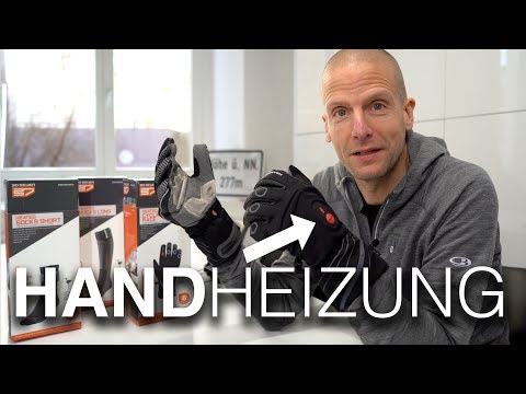 30seven beheizbare Fahrradhandschuhe gegen kalte Hände! Race Waterproof Heated Cycling Gloves