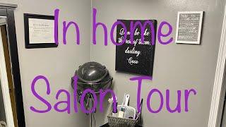 In Home Salon Tour