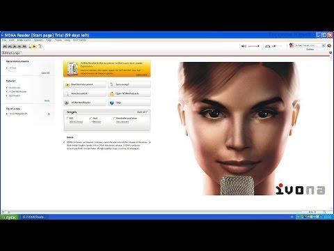 Установка IVONA voices 2 (Русский голос Татьяна) + IVONA Reader