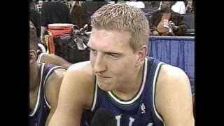 Young Dirk Nowitzki Surprises at 2000 Three-Point Shootout