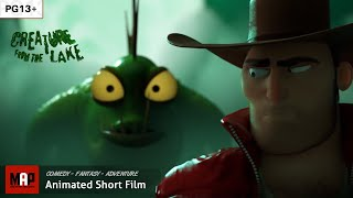 Funny CGI 3d Animated Short Film ** CREATURE FROM THE LAKE ** Movie by IsArt Digital Team [PG13]
