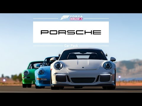 Forza Horizon 3 -- Porsche Car Pack