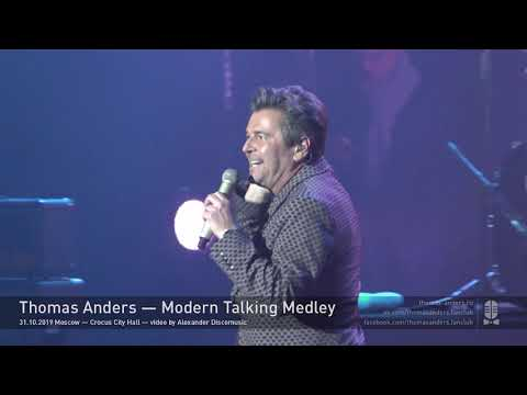 Thomas Anders - Modern Talking Medley  (Live in Moscow 31-10-2019)