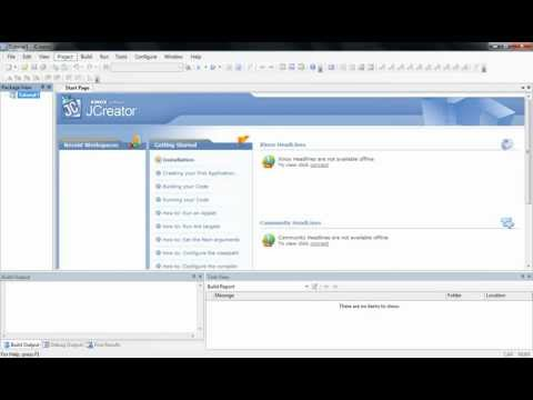 Java Tutorial 1: How To Use JCreator And Create Hello World Program Mp3