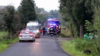 Śmiertelny wypadek w Porębach