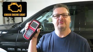 Check Engine Light - RAM 1500 - Diagnose with Autel AL619 OBDII Scanner