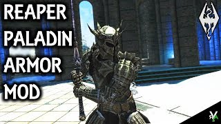 REAPER PALADIN ARMOR: Unique Armor Mod- Xbox Modded Skyrim Mod Showcase