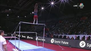 Simone Biles = Unbelievable On Uneven Bars