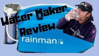 Rainman Water Maker Review   Reverse Osmosis Watermaker For Sailboat