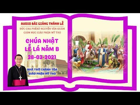 Đức Cha Phêrô suy niệm Chúa Nhật Lễ Lá