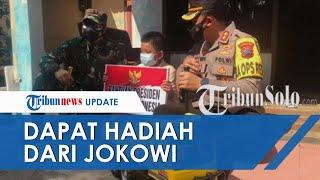Cerita Ghifari Bocah Yatim Piatu asal Sukoharjo Dikirim Hadiah-hadiah dari Presiden Jokowi