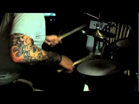 Death metal drummer