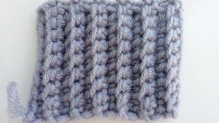 Крючок для начинающих. Урок 15: Резинка крючком. Вязание крючком.