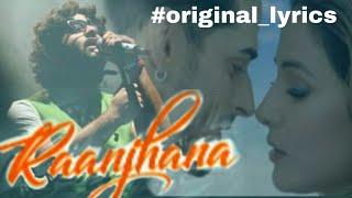 Raanjhana lyrics- Priyank Sharmaaa & Hina Khan   - YouTube