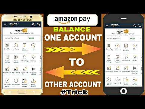 Amazon pay balance transfer one account to other account and recharge once||Amazon pay balance trick