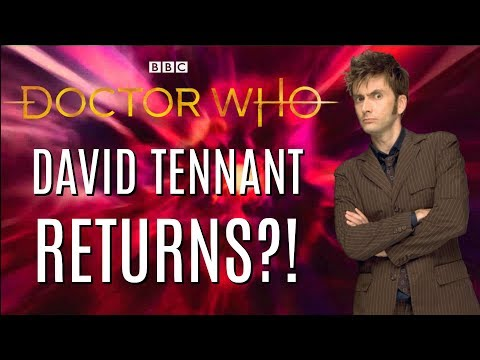 David Tennant RETURNING TO DOCTOR WHO?! (Rumor) - ZakPak