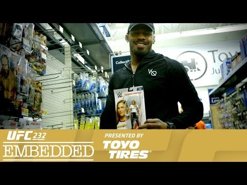 UFC 232 Embedded: Vlog Series - Episode 1